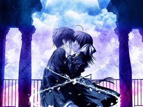 anime japanese love anime love kiss versos