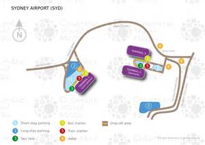 Sydney Airport Car Rental Map Kingsford Smith Airport Syd Airports Worldwide