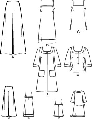 pattern review pattern sales new look 6788 misses dress top coat jacket and pants
