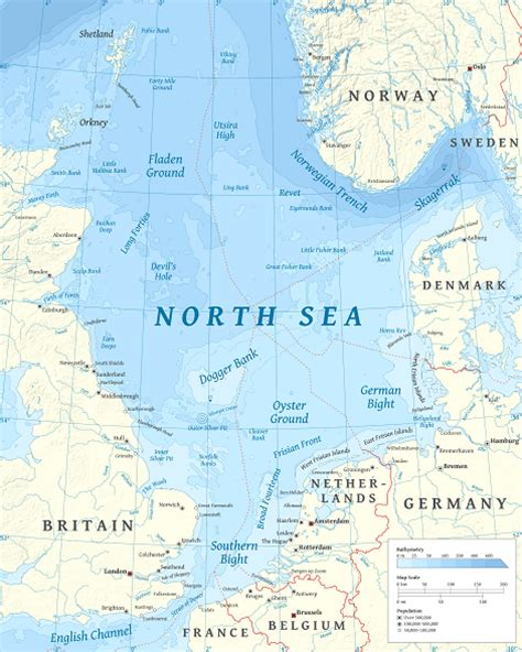 United Kingdom Continental Shelf by Interesting Facts About The Sea Just Facts