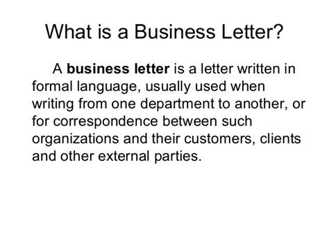 Business Letters And Forms Ppt letter drafting ppt 15 feb
