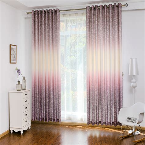 ombre waverly print polycotton blend beautiful window curtains