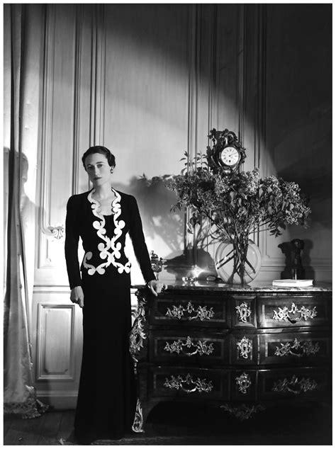 Wallis Simpson in Elsa Sciaparelli, 1937   Wallis Simpson