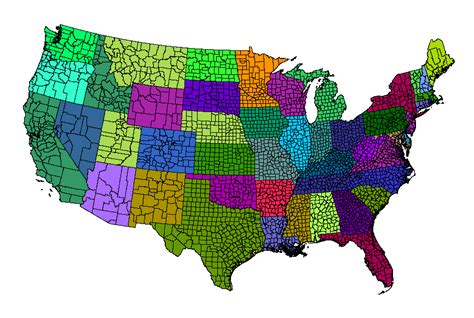 what co awips map database catalog awips counties