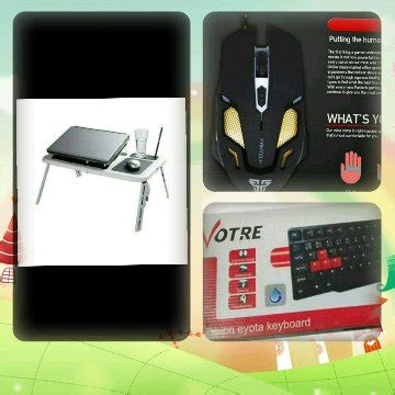 Mouse Gaming Fantech Kael V2 jual beli promo paket hemat meja laptop portable