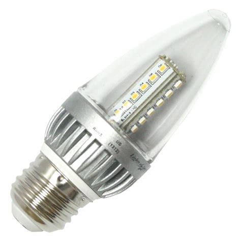 lights of america led bulbs lights of america 23252 2325led lf4 24 blunt tip led