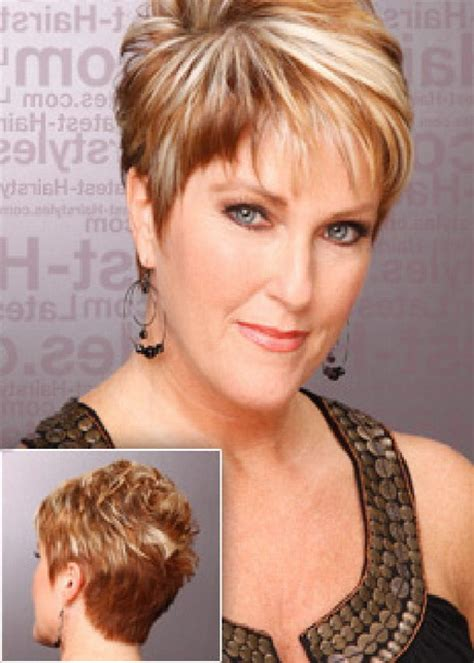 hairstyles for short chubby women over 40 2015 short hairstyles for women over 40