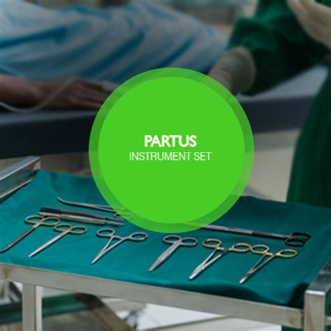 Partus Set Renz Surgical Instrument Kit graha ismaya rudolf partus instrument set