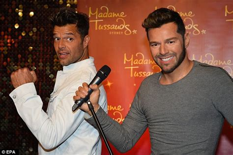 Ricky Martin Shows Footage Of Himself by Ricky Martin Unveils His Wax Figure At Madame Tussauds