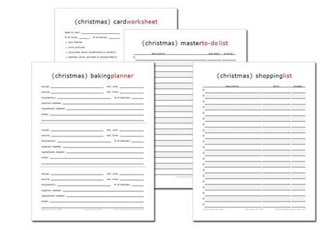 printable christmas planner pages holiday printables life your way