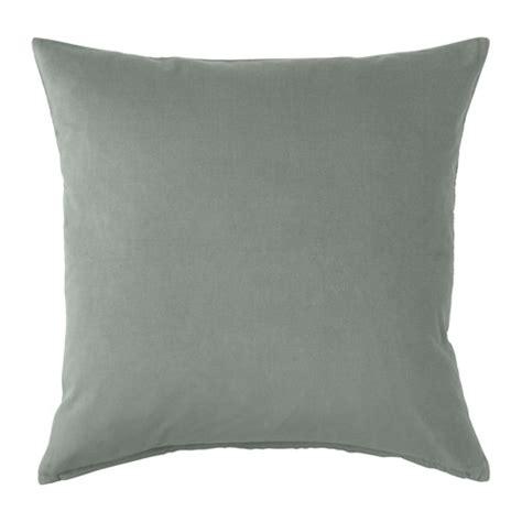Grey And Green Cushions Sanela Cushion Cover Grey Green 50x50 Cm Ikea