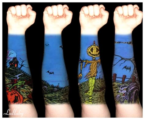 halloween tattoo actually that s the album artwork for