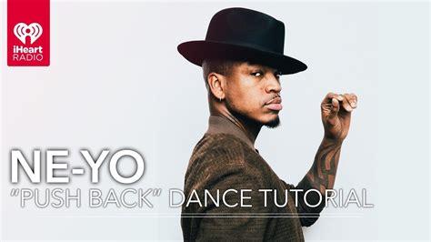 Ne Yo Dance Tutorial | ne yo gives a quot push back quot dance tutorial dances with