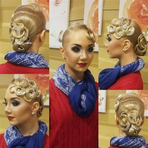 Ballroom Hairstyles by 1000 Images About Ballroom Hairstyles On Updo