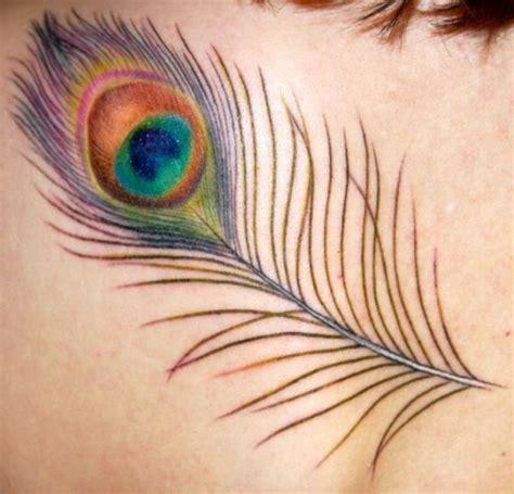 tattoo feather peacock peacock tattoos tattoofanblog