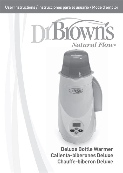 Dr Brown Browns Deluxe Digital Bottle Warmer Defroster Penghangat 76 dr brown s deluxe bottle warmer user manual 24 pages