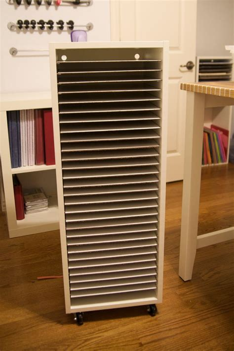cabinet storage solutions ikea my new paper storage i bought an ikea upper cabinet size 15x39 quot base item 443 832 10 for a