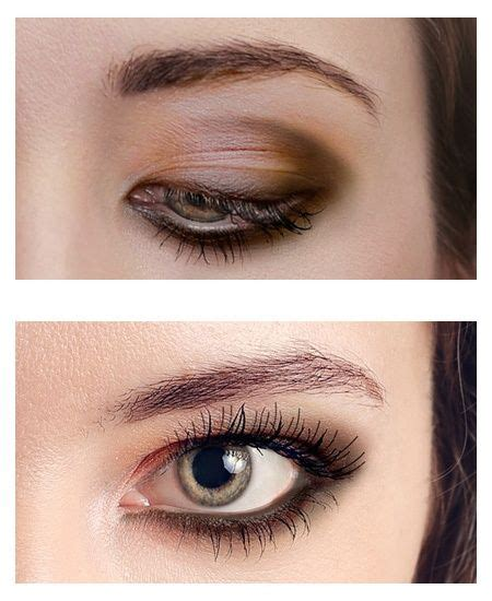 Eyeshadow Hooded 18 best downturned make up images on make up makeup and hair and makeup