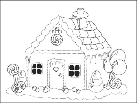 house coloring pages games coloring picture gingerbread house games 16210