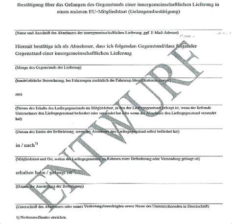 Musterrechnung Lieferung Eu Steuerberater In Erfurt Neue Rechnungsangaben Ab 30 06 2013