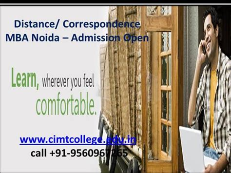 Mba Open House What To Wear Post Acceptance by Distance Correspondence Mba Noida Admission Open