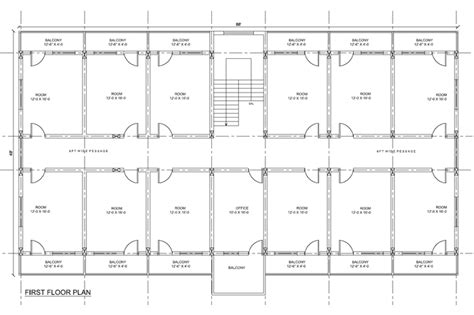 Architectural Drafting 2d Plan Cad Drafting Architectural Plans Of Hostels