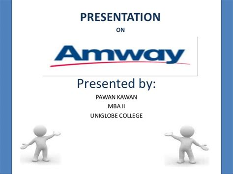 Business Plan For Mba Students Ppt by Amway