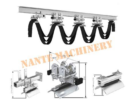 Sale Troly Besi Max 70kg cranes i beam festoon system heavy industrial steel rail
