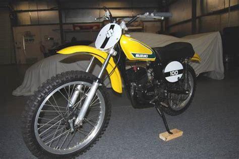 Suzuki Tm 100 1974 Suzuki Tm100 Contender Dirt Bike Ronsusser