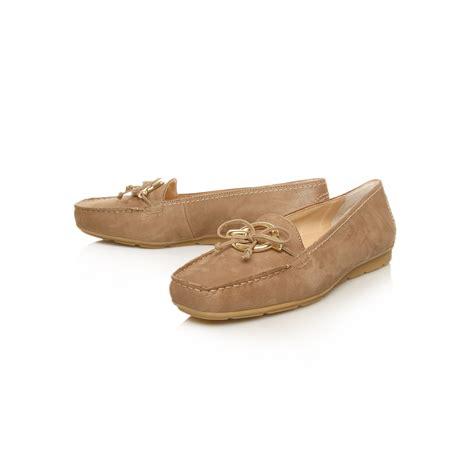 coach jocelyn loafer paul green moccasin loafers in brown lyst