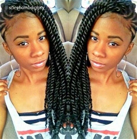 protective braid hairstyles for short natural hair | www