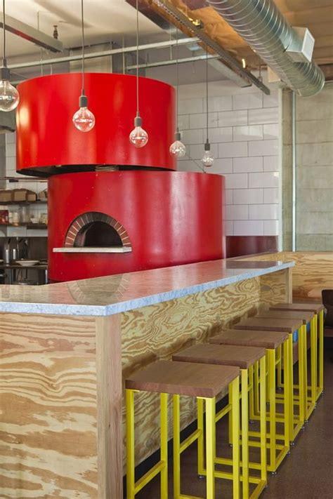 contemporary pitfire pizza interior restaurant by bestor