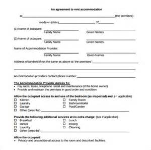 free room rental lease agreement template room rental agreement printable sle simple room rental
