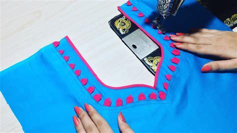 churidar cutting pattern jpg demo churidar neck design cutting and stitching youtube