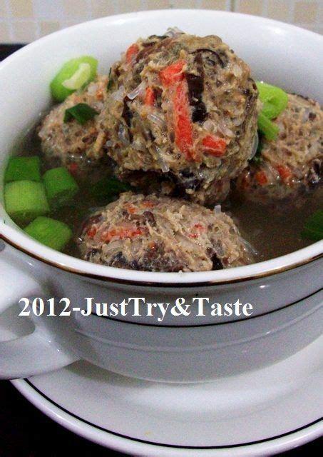 taste bakso soun wortel  jamur kuping ala