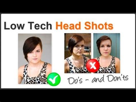 how to take professional pictures at home photography tip shoot professional looking head shots at