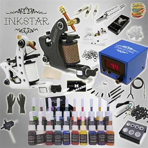 tattoo gun kits for sale kit inkstar journeyman kit truecolor 20 colors
