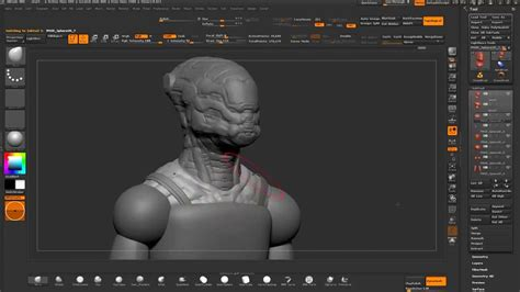 zbrush tutorial helmet blocking out a helmet design in zbrush