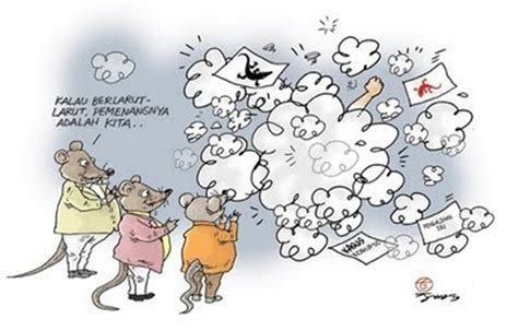 monster bego kartun lucu korupsi koruptor makin sulit dibasmi