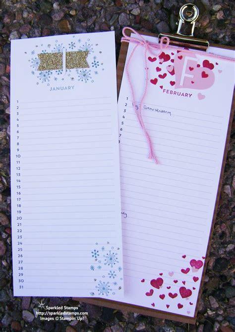 Perpetual Birthday Calendar Perpetual Birthday Calendar Kit Stin Up Kits