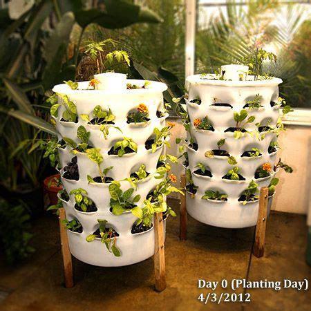 garden tower vertical container garden towers compost tea and vertical planter on