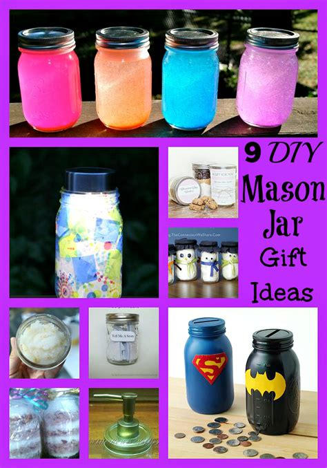 coupons and lesson plans 9 diy jar gift ideas