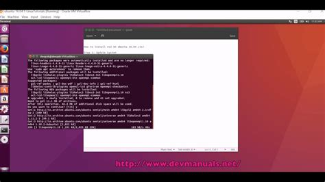 tutorial ns3 ubuntu how to install ns3 on ubuntu 16 04 lts youtube