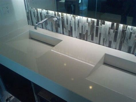integrated bathroom sink countertop pinterest the world s catalog of ideas