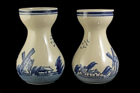 Antique Style Blue And White Vases In Vases From Home Garden On Aliexpress Alibaba Delft Style Vases Blue And White Set Of 2