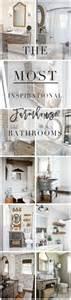 farmhouse bathroom accessories 25 best ideas about farmhouse bathrooms on