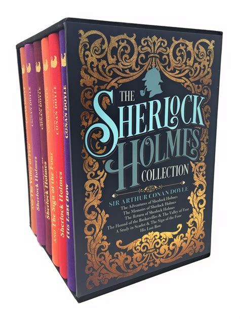 libro sherlock holmes 6 book boxed the sherlock holmes collection by sir arthur conan doyle 6 books box set 9781784286743 ebay