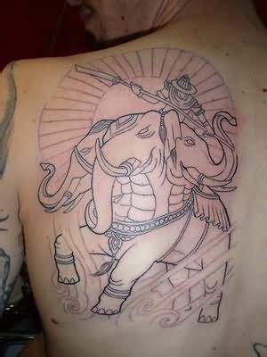 elephant tattoo japanese 42 unique japanese elephant tattoos