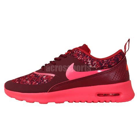 Sepatu Nike Airmax Thea Import Running Casual nike wmns air max thea print pink leopard 2014 womens casual running shoes ebay
