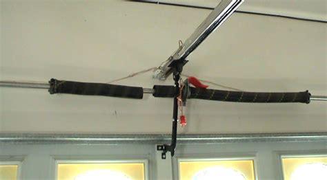 garage door tension bar
